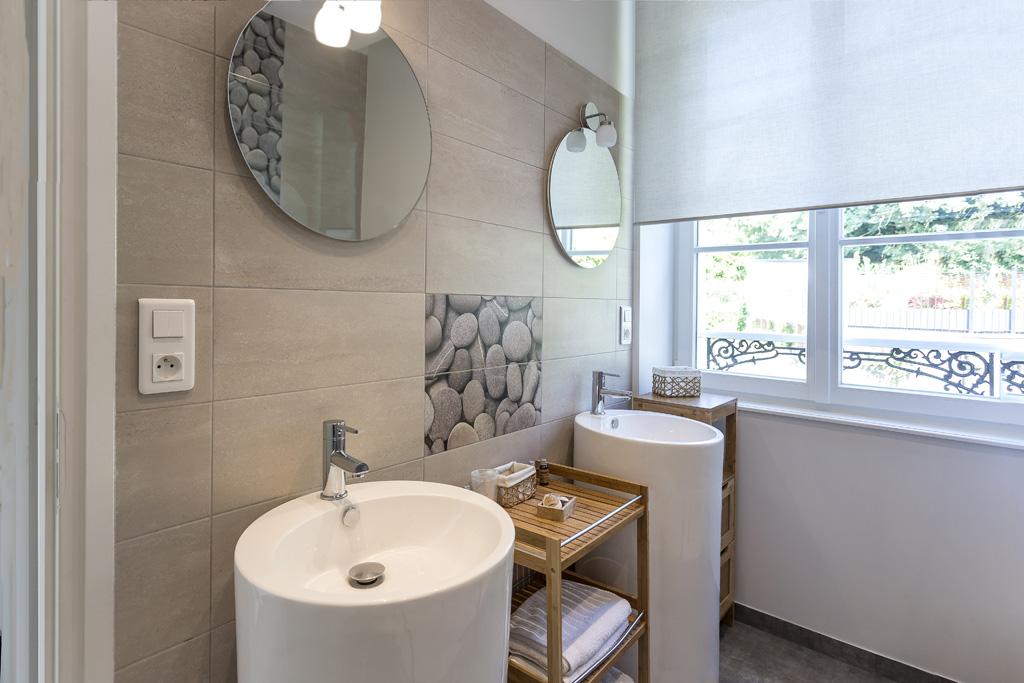 Salle d'eau double vasque