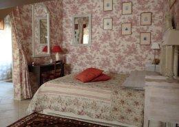 Maison d'hôtes Carpe Diem, Massangis : chambre pastorale