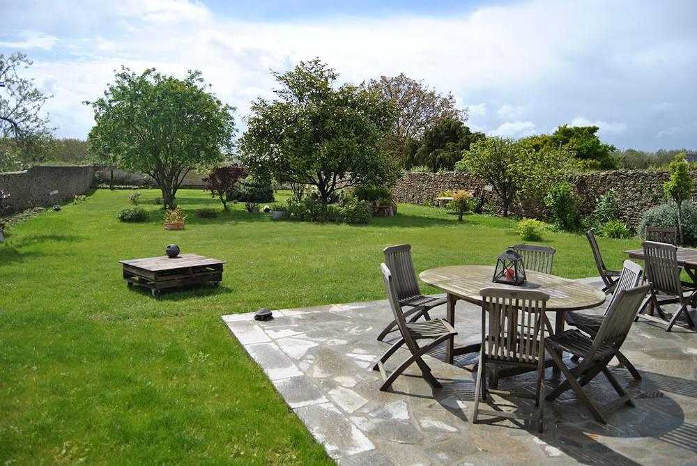 Ker Liviou, maison d'hôtes de charme Lancieux (Bretagne) : jardin