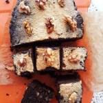 Carrés aux pépites de chocolat sans gluten et vegan