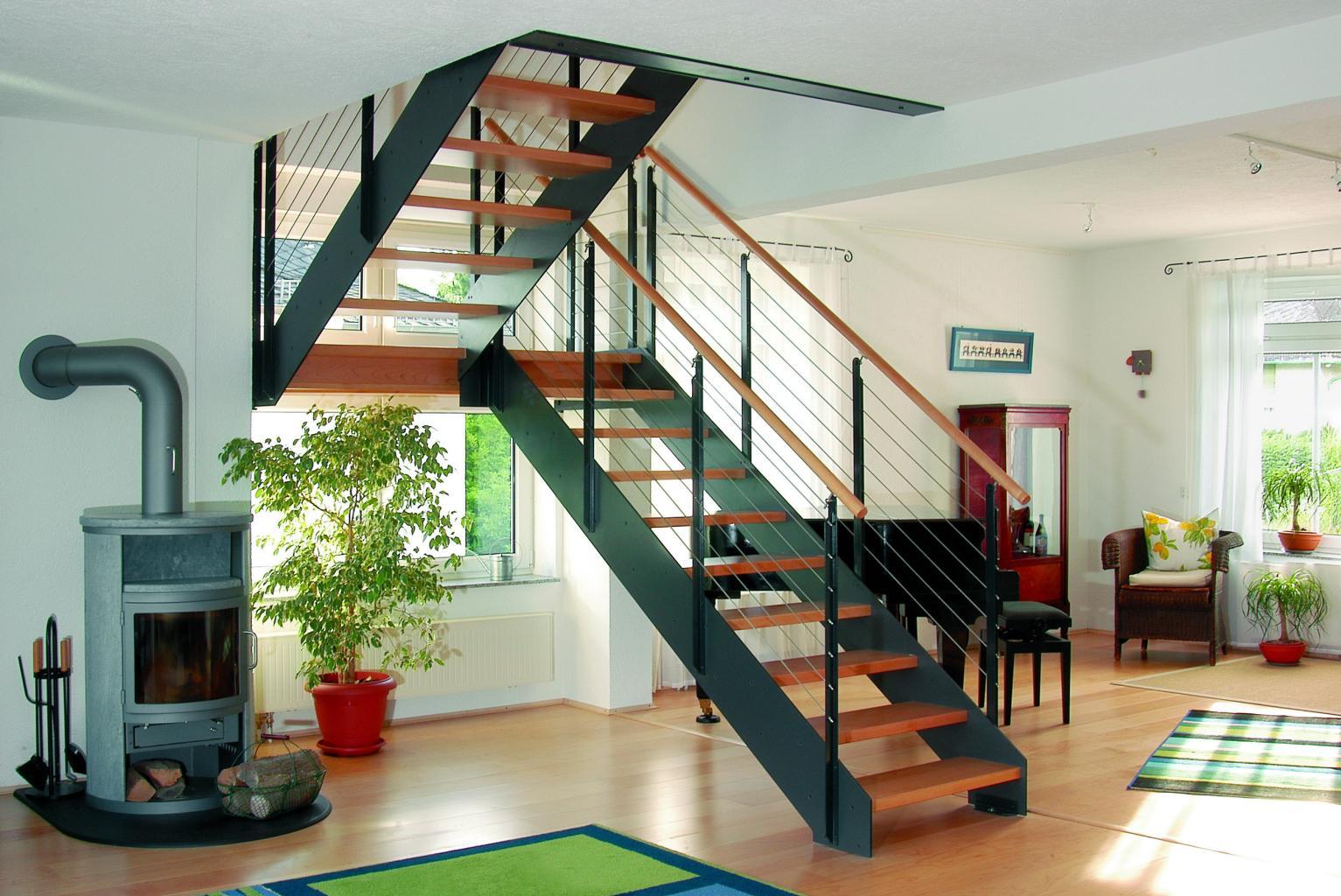 Escalier Double Tournant