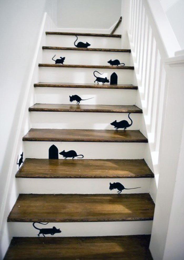 Exceptionnel 7 façons de décorer son escalier pour le rendre absolument unique  QR28