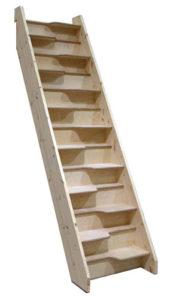 L Escalier A Pas Japonais Avantages Et Inconvenients Fabricant D Escaliers Sur Mesure Debret Escaliers