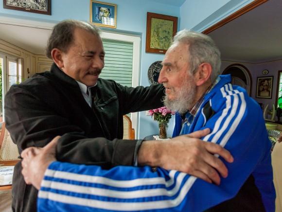 Resultado de imagen para Rinden tributo a Fidel en Nicaragua