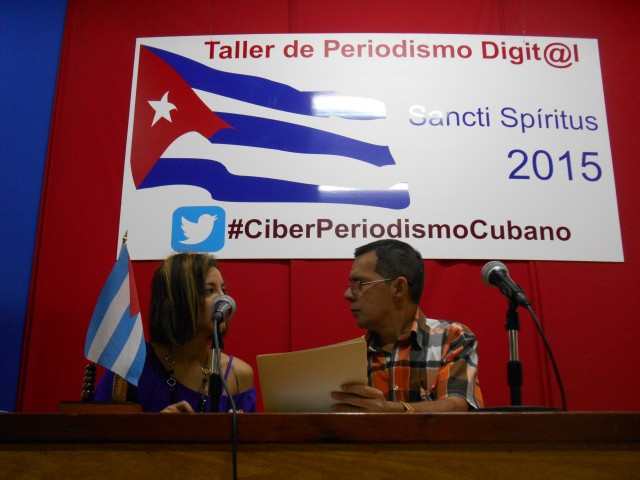 Taller de Periodismo Digital en Sancti Spíritus.
