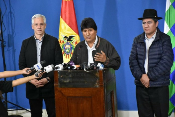 Evo Morales called for new general elections. (Photo: PL)