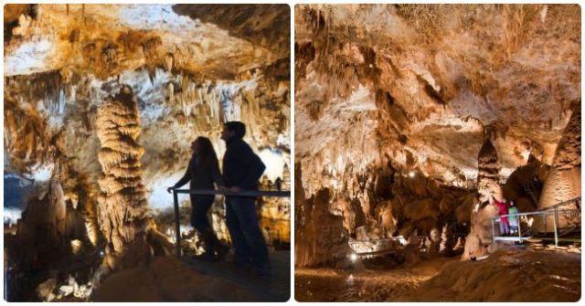 Cueva de Pozalagua para visitar en el País Vasco