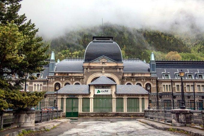 Estació de Canfranc