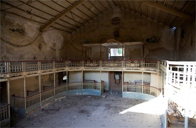 Teatro cervantes colonia de Sta. Eulalia