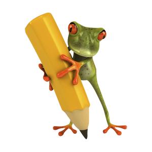grenouille-ecris