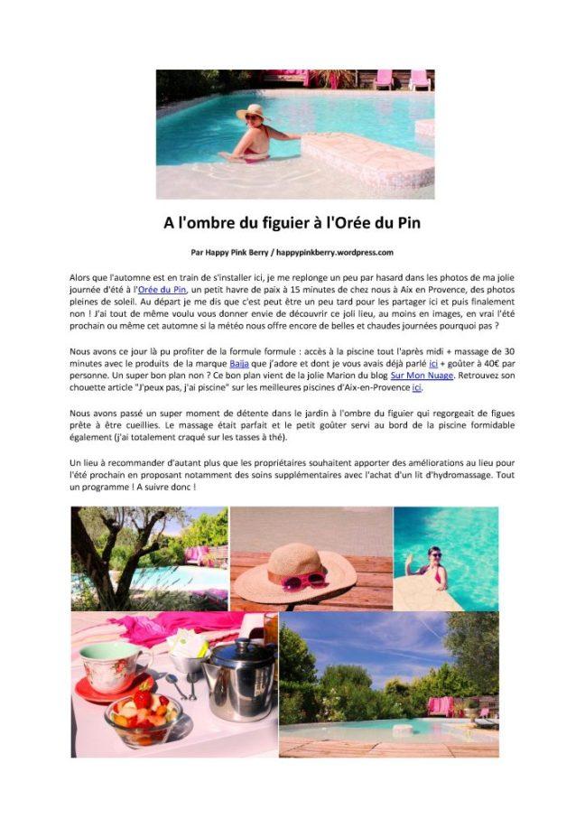 Détente à Aix en Provence- massage à Puyricard-escapaderelaxante