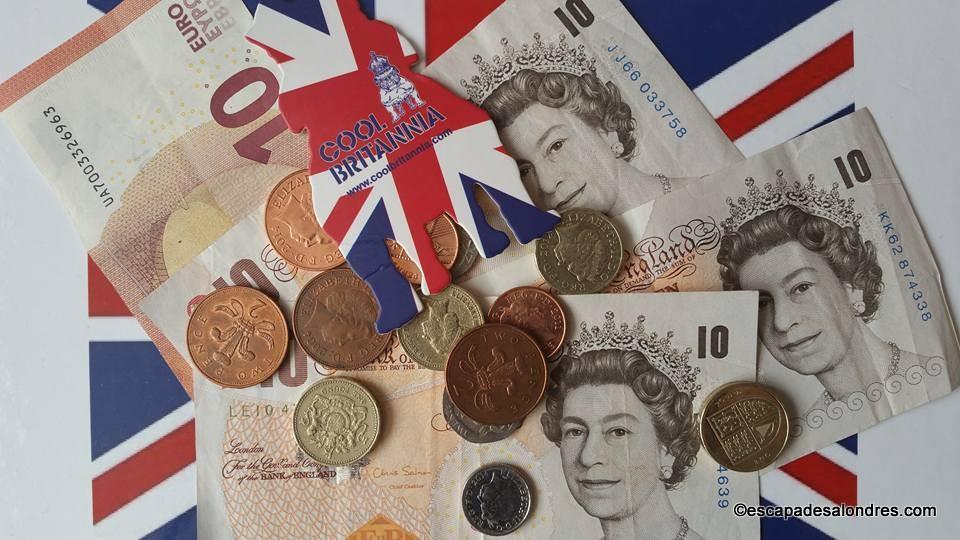 change livre sterling
