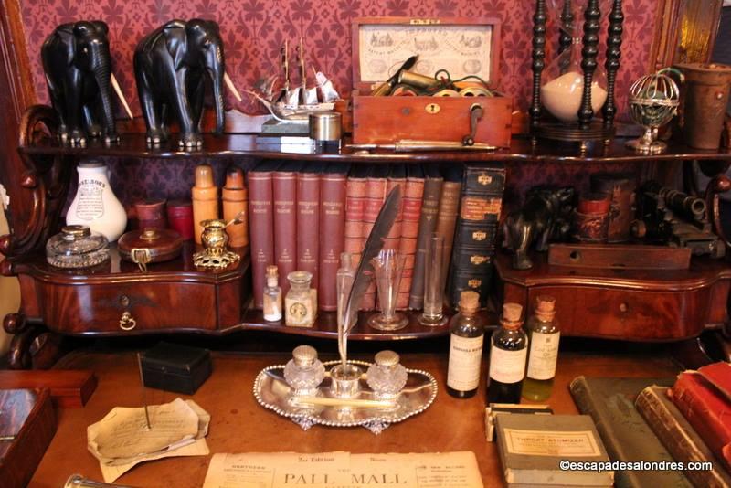The Sherlock Holmes Musum 221B Baker Street