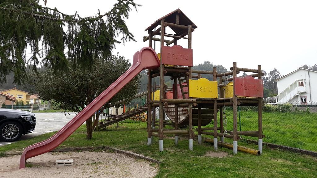 Restaurante con parque infantil en Culleredo