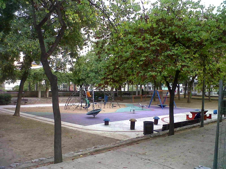 Rincones con encanto y parque infantil