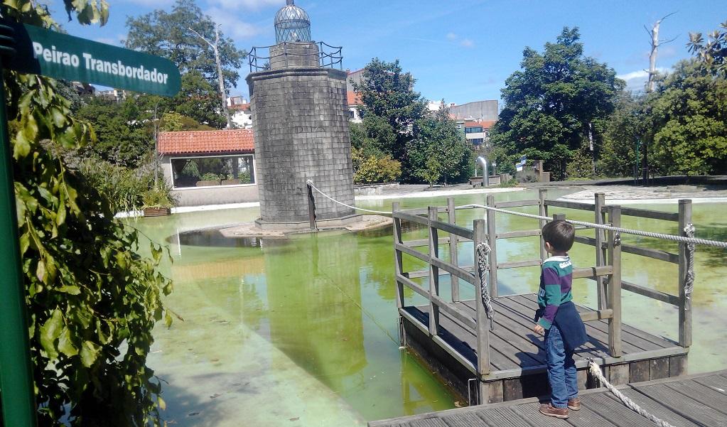 Un parque didáctico al aire libre: Aquaciencia, con niños