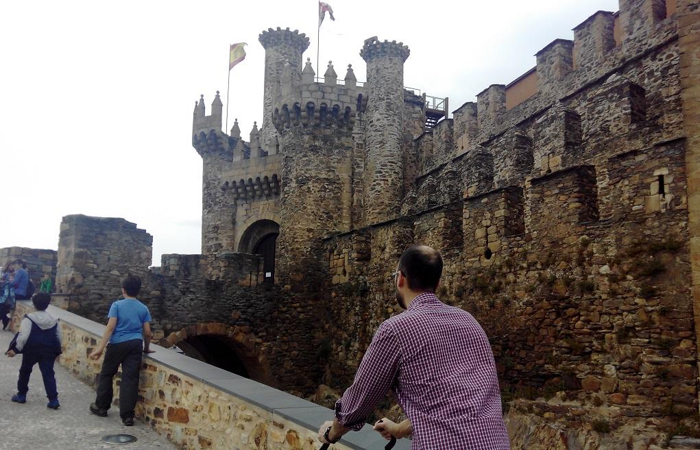 Castilla y León con niños: el castillo templario de Ponferrada