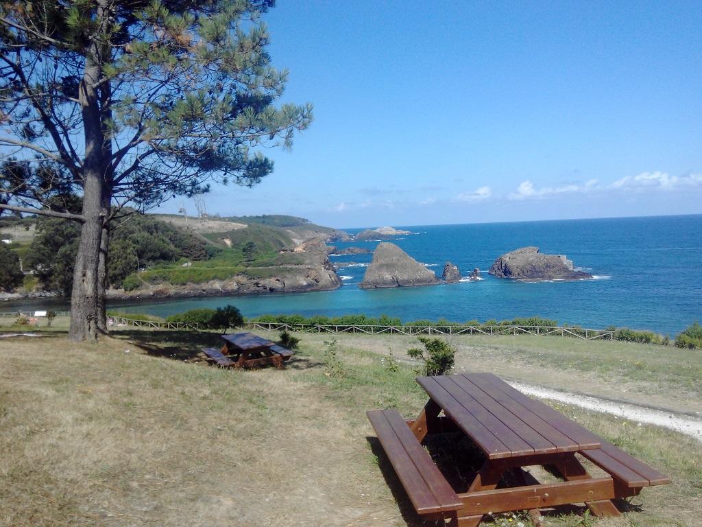 Asturias con niños: la playa de Porcía