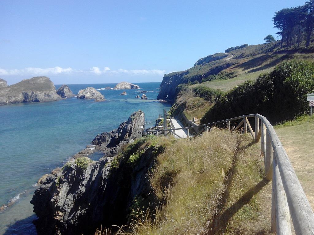 Asturias con niños playa de Porcía