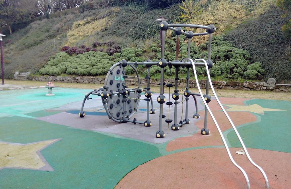 Santiago con niños: el parque de la Alameda y su zona infantil