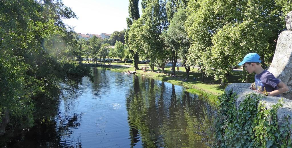 De escapada en Allariz (Ourense), con niños
