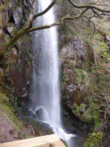 Cascada de Augacaída en Ferreira de Pantón