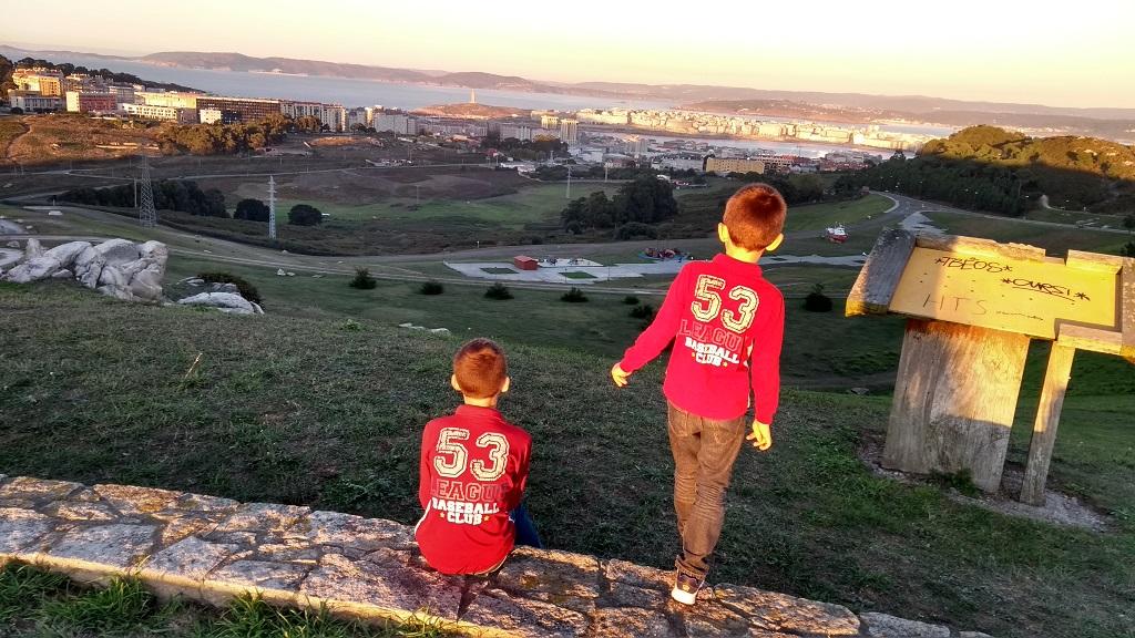El Parque de Bens en A Coruña