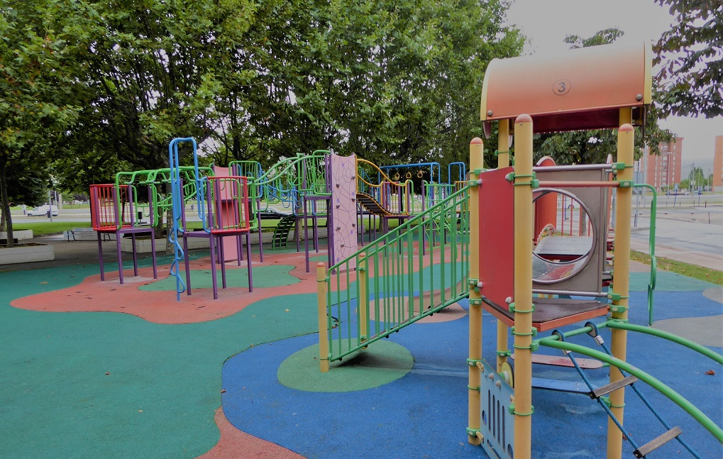 Parques infantiles en Barakaldo