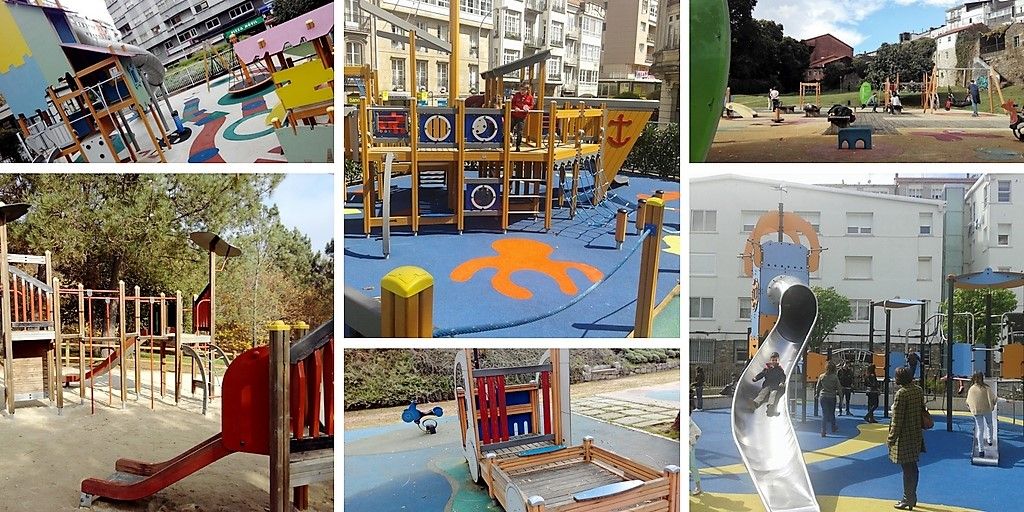 Los mejores parques infantiles en Santiago de Compostela