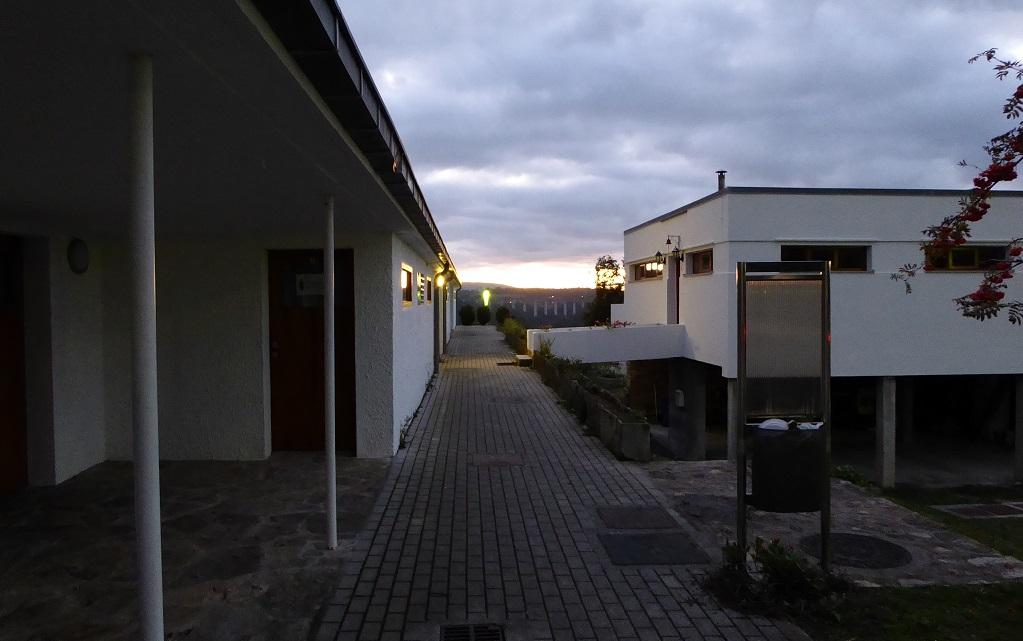 Antiguas minas wolframio en Galicia poblado Fontao
