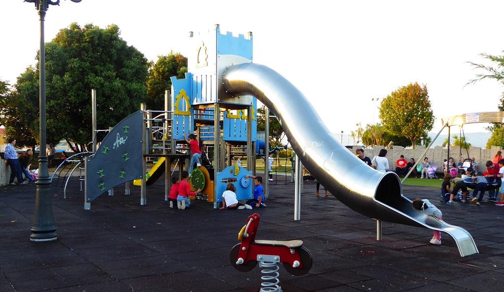 parque infantil Porto do Son