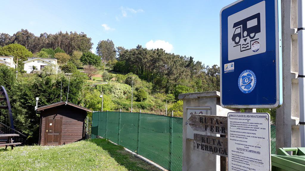 Áreas de autocaravana en Galicia para ir con niños