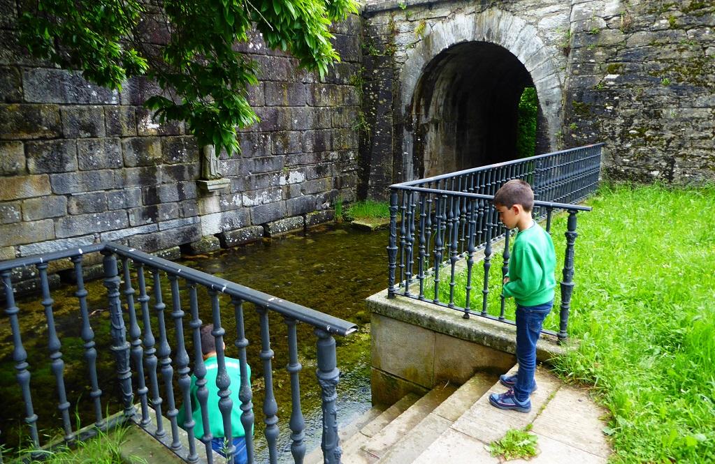 Excursión a donde nace el río Eo con niños