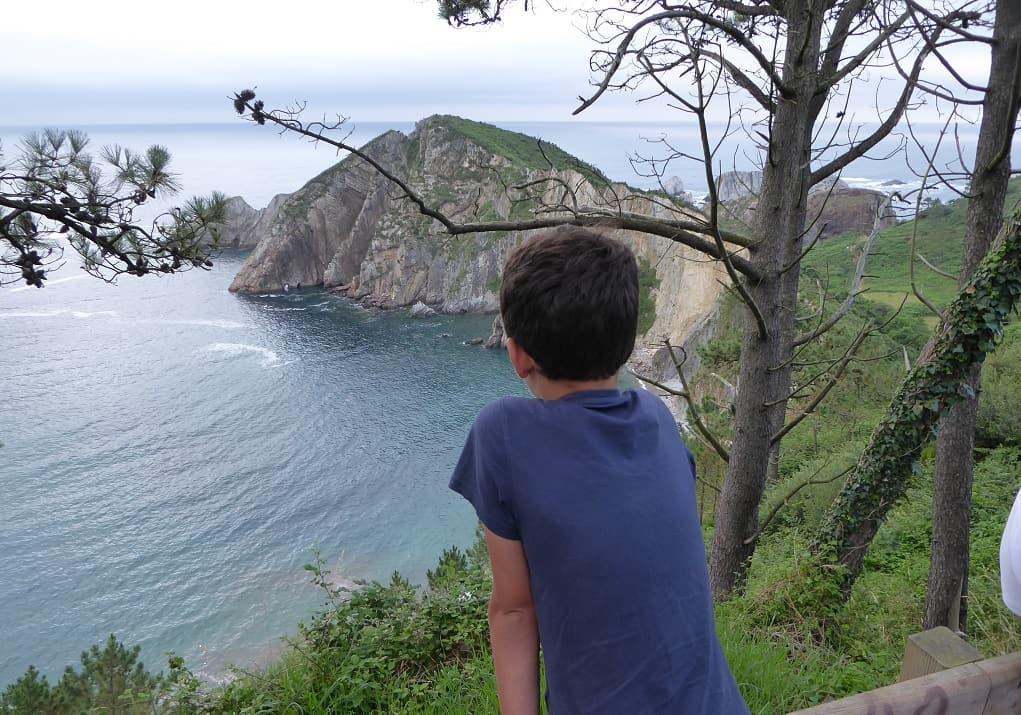 Cudillero con niños: la playa del Silencio
