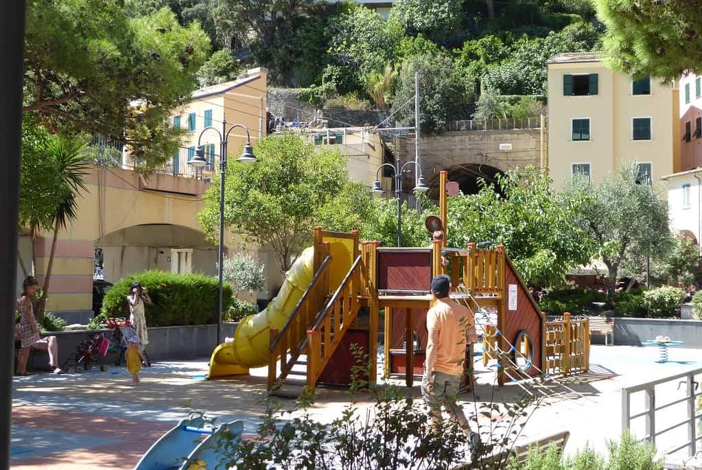 Cinque Terre con niños Monterosso