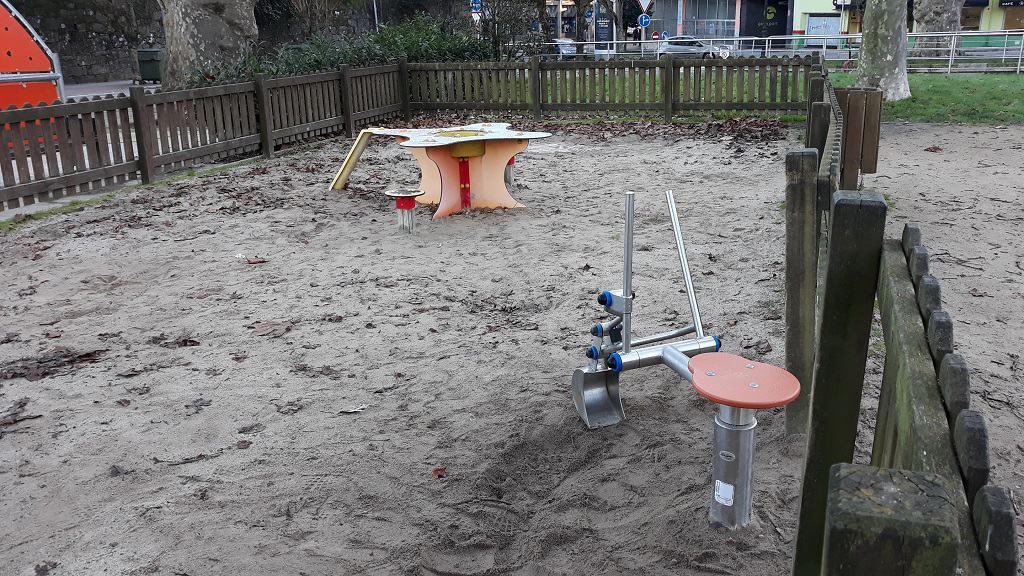 Pontevedra con niños parque de Barcelos
