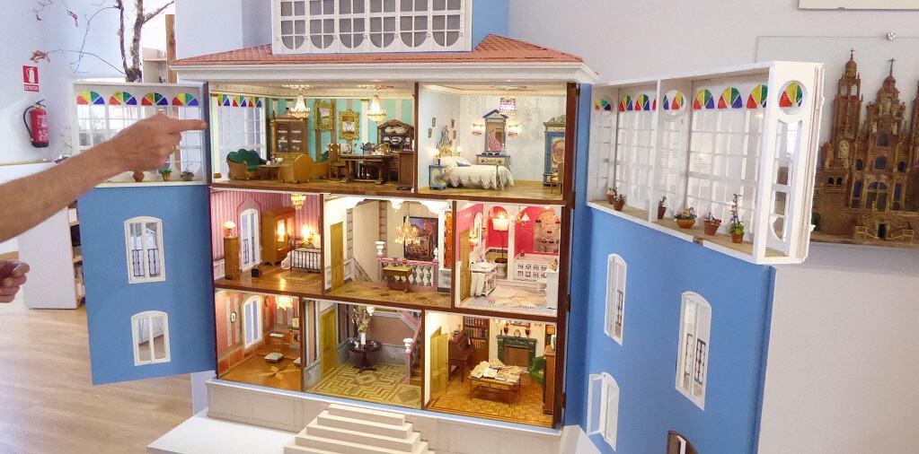 Un museo de casas de muñecas en Galicia