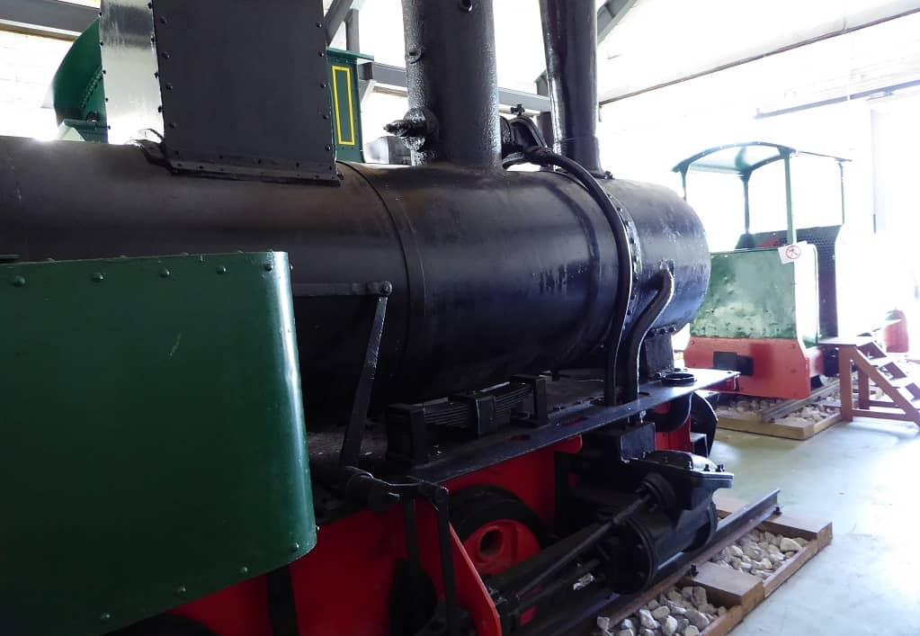 Tren minero del Cadaviu exposición