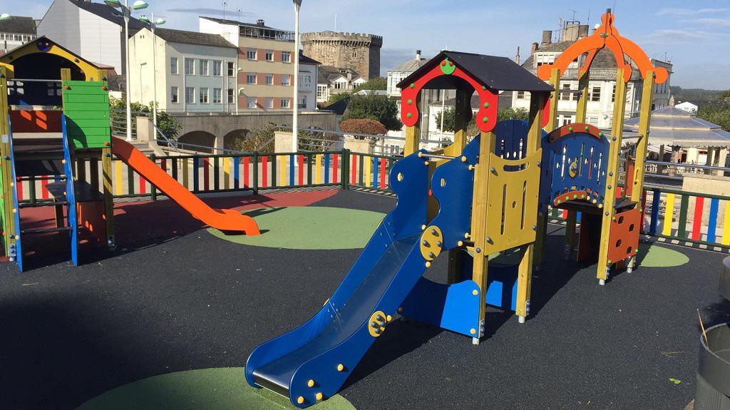 El parque infantil de Vilalba