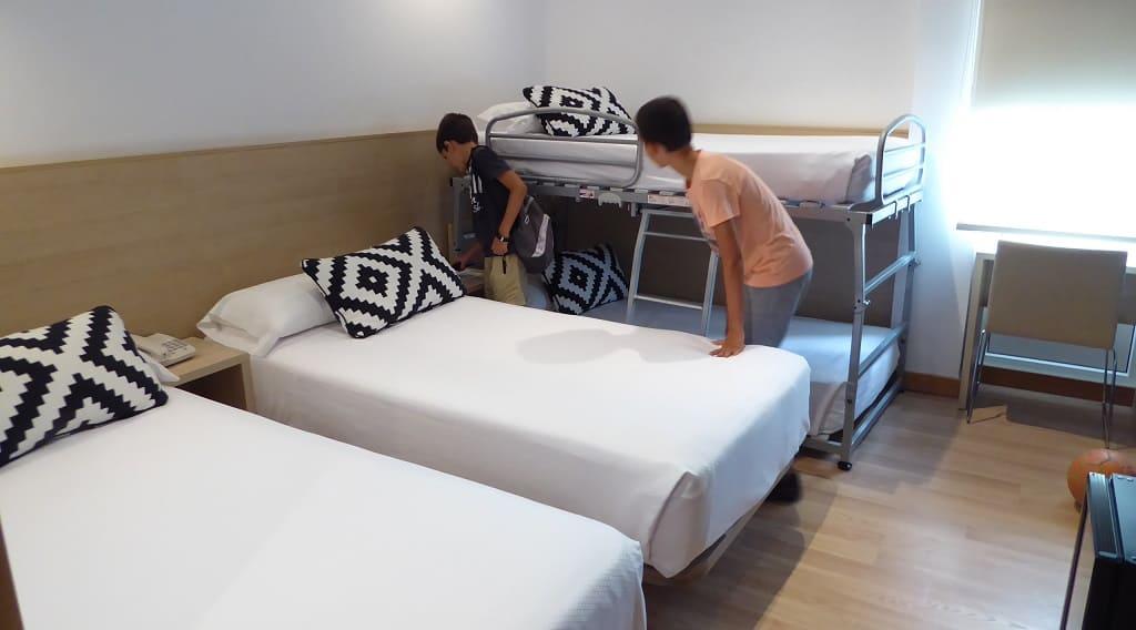 Hoteles con habitaciones para familias Soria