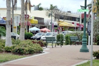 Circle Park on St Armands Circle