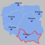 South East Poland Map