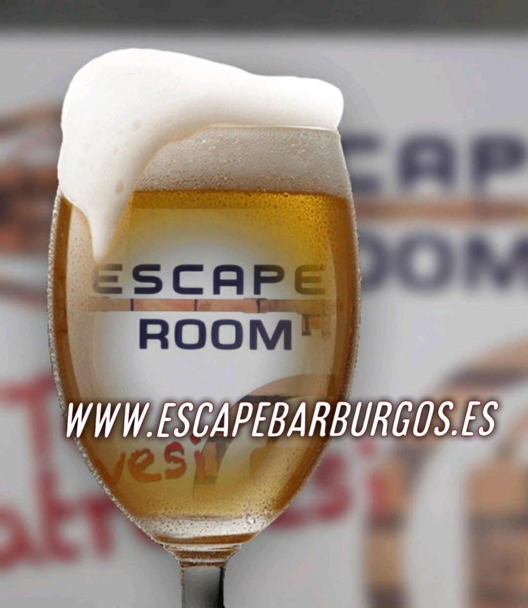 Escape room!Escape bar!
