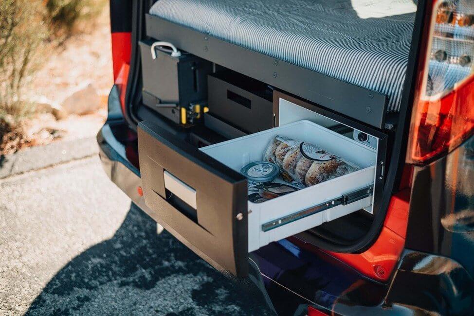 Santa Cruz Camper Refrigerator