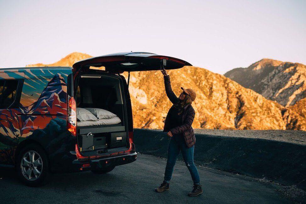 Santa Cruz Camper Truck