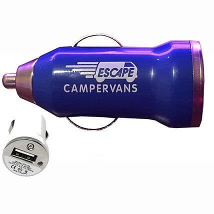 USB charger campervan extra accessory
