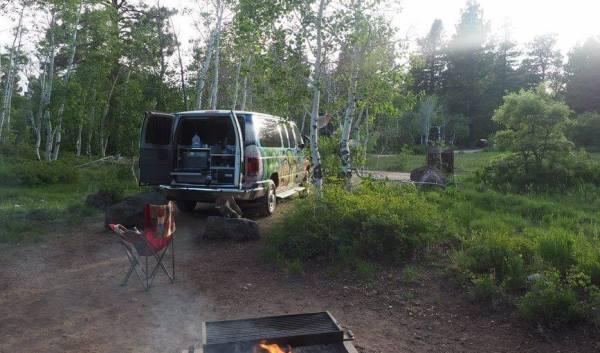 Campervan Cooking Healthy Road Trip Meals