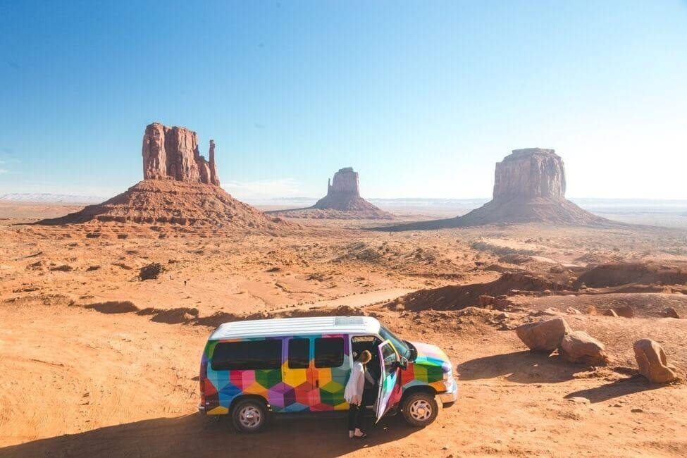 Monument Valley campervan