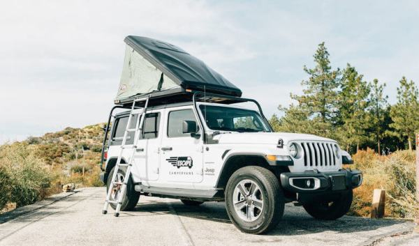Escape Jeep Camper