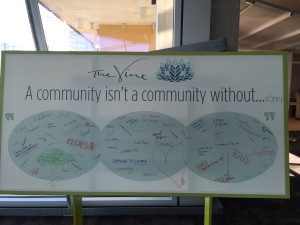 A community isn't a community without....
